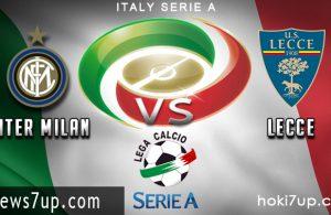 Prediksi Inter Milan vs Lecce