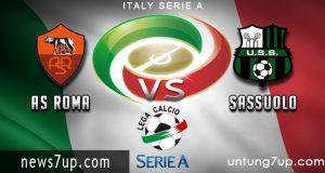 Prediksi Roma vs Sassuolo