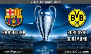 Prediksi Barcelona vs Borussia Dortmund